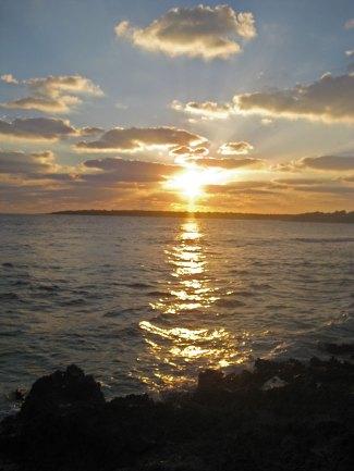 v-sunset
