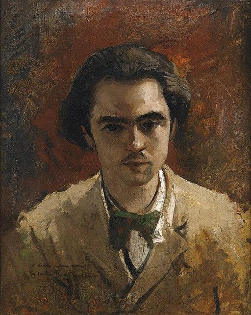 Verlaine, door Bazille