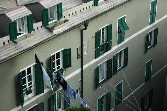 huizen en was, Genua