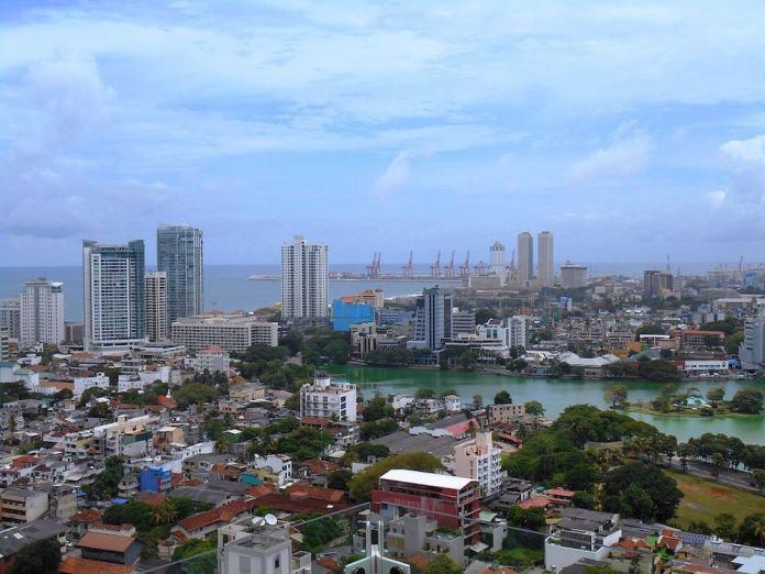 zicht op Colombo