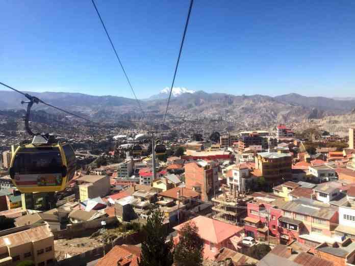 La Paz vanuit eitje