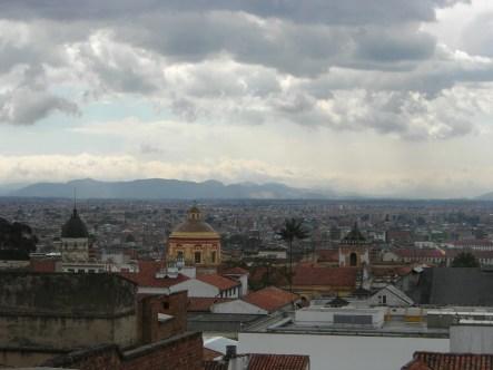 Bogota from Pico de Gallo