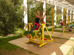 Gym @ Cerro de San Cristóbal