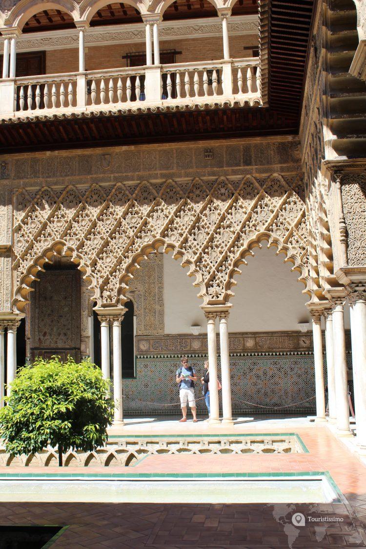 Le palais Alcazar à Séville