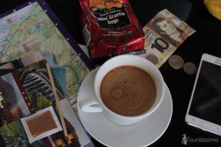 Coffee time à Inverness en Ecosse