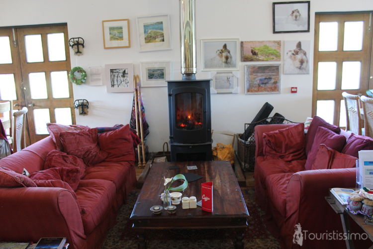 Déjeuner à The Camerons Tea Room and Farm Shop à Inverness en Ecosse