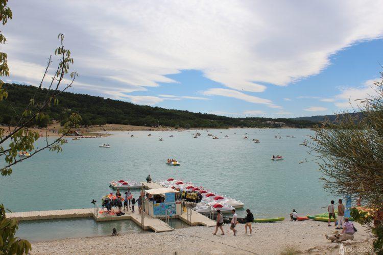 Le Lac de Sainte- Croix aux Gorges du Verdon