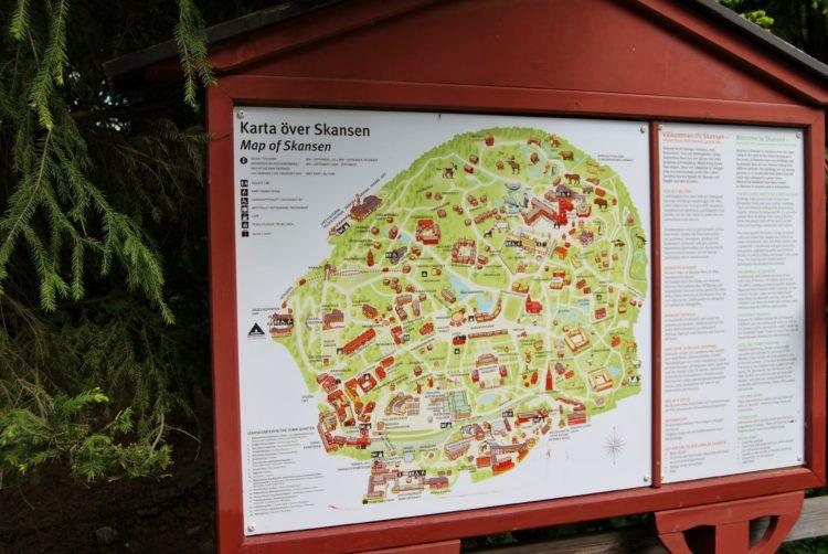 Map Skansen