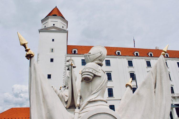 Entrée du château de Bratislava