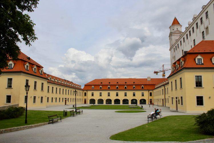 La cour du château de bratislava