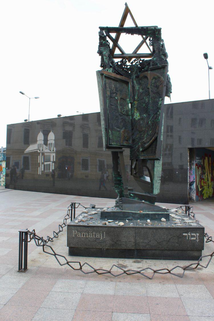 Mémorial de seconde guerre mondiale à Bratislava