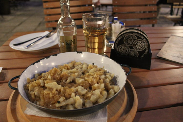 liptov gnocchi Bratislava
