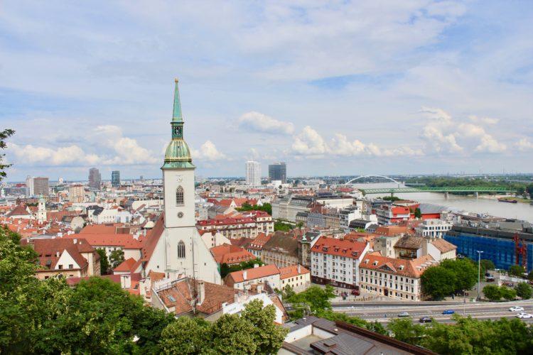 vue sur le Danube