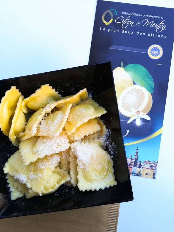 Raviolis aux citrons de Monton Pasta Piemonte