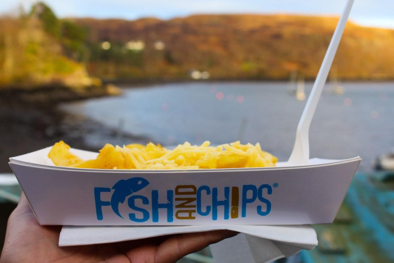 où manger du fish and chips à portree