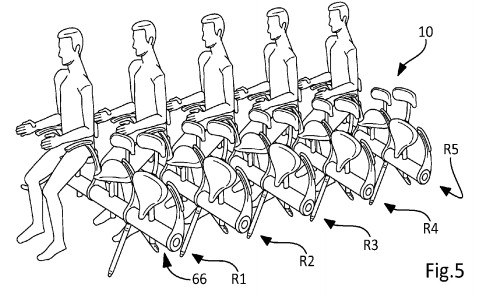 New Proposed Airplane Seats Look...Interesting