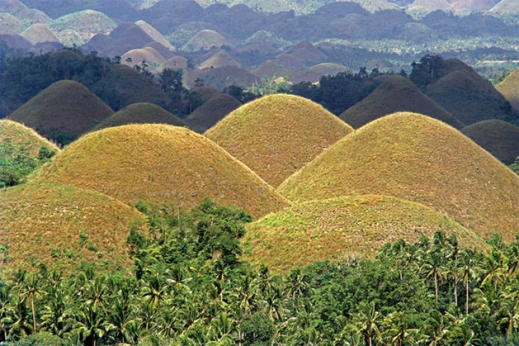 Tourist Spots in Bohol Chocolate Hills