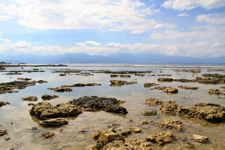 Diguisit Beach and Rock Formations Baler Aurora Philippines