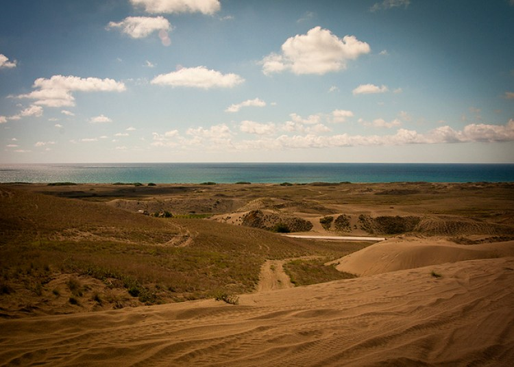 La Paz Sand Dunes Ilocos Norte