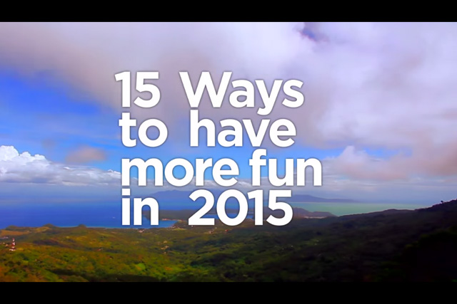 15 ways to have more fun in the Philippines 2015 DOT