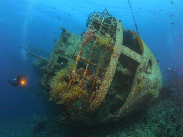 WWII Shipwrecks Palawan
