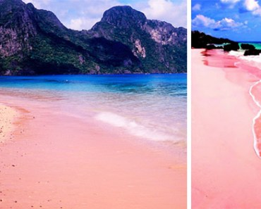 Pink Sand Beach of Sila Island