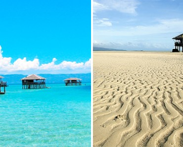 Manjuyod Sandbar Negros Occidental Philippines