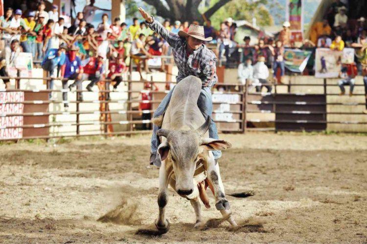 Masbate Philippines Rodeo Event