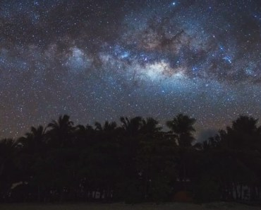 Milky Way at Guyam Island Siargao Philippines