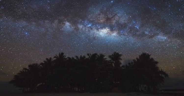 Milky Way at Guyam Island Siargao Philippines