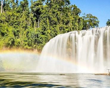 Tinuy-an Falls Bislig Surigao del Sur Rainbow