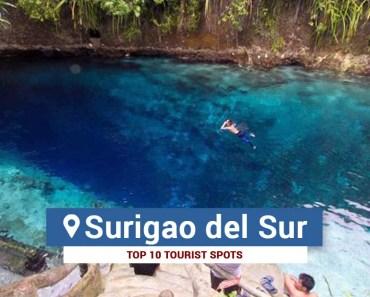 Top 10 Tourist Spots in Surigao del Sur