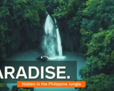 Video of Kawasan Falls in Cebu