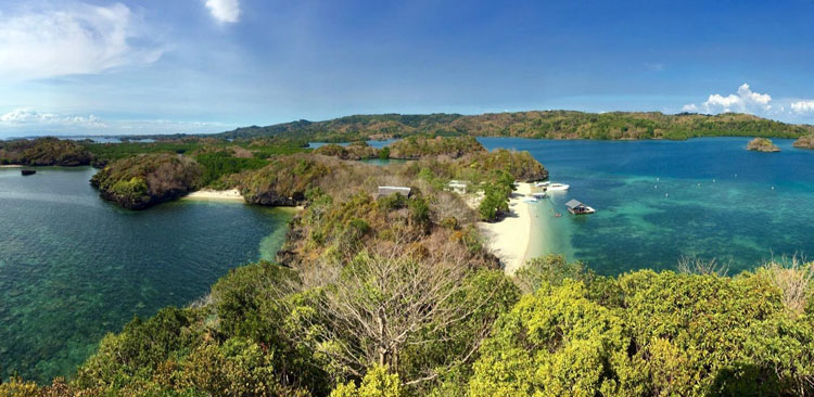 Taklong Island National Marine Sanctuary Guimaras
