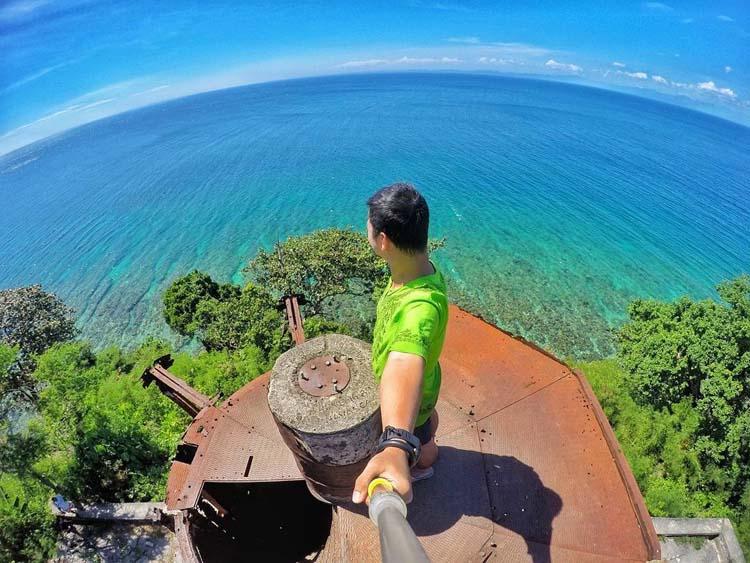 Top View of Guisi Lighthouse Guimaras
