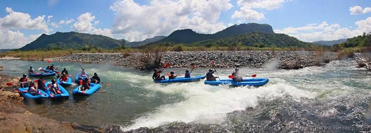 Whitewater Kayaking in Tarlac