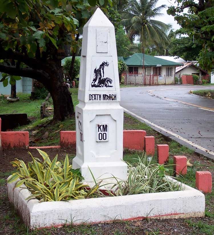 Zero Kilometer Death March Marker