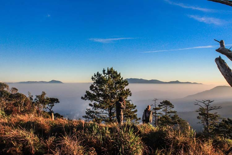 Sea of Clouds in Mount Ugo