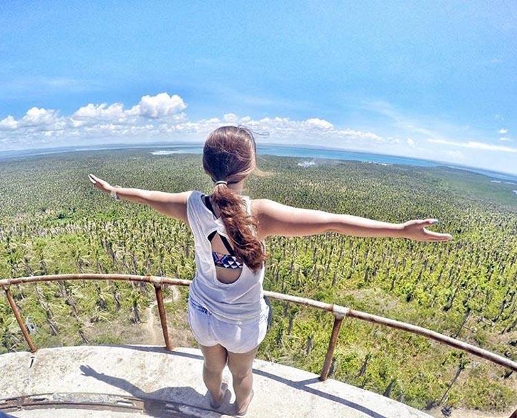Batag Island Lighthouse View