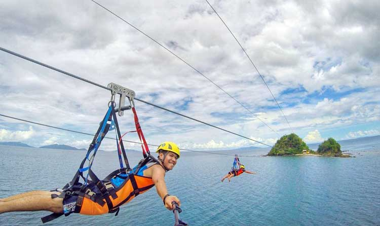 Calbayog Zipline and Malajog Ridge Nature Park