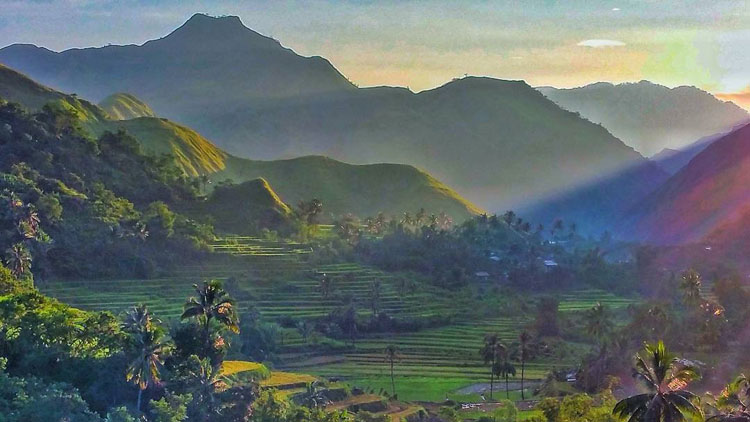 10. Antique Rice Terraces