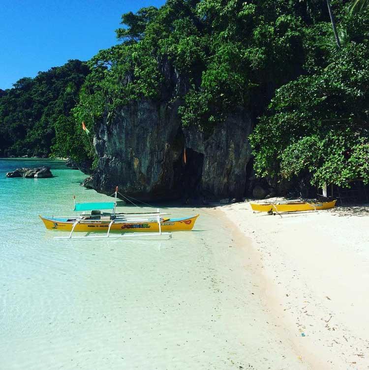 1. Bitaog Beach Dinagat Islands