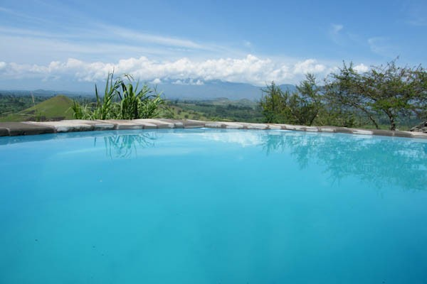 Kyaninga Lodge Swimming Pool
