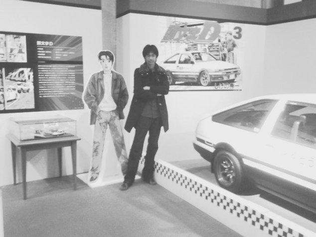 toyota museum bersama takumi initial d