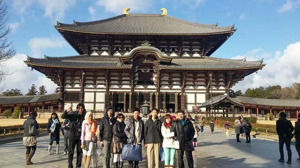 foto peserta liburan ke jepang winter 2015