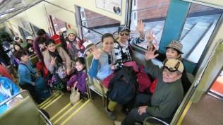 tour ke jepang perjalanan naik ke tetayama alpine route