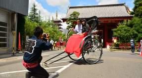 tour wisata becak asakusa di tokyo jepang
