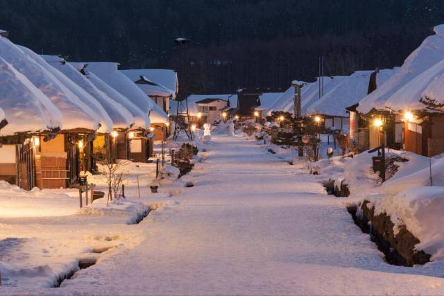 Ouchijuku Snow Festival