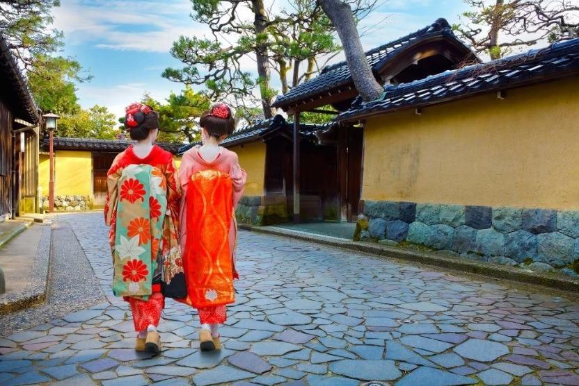 Distrik Samurai Nagamachi di Kanazawa Jepang 2