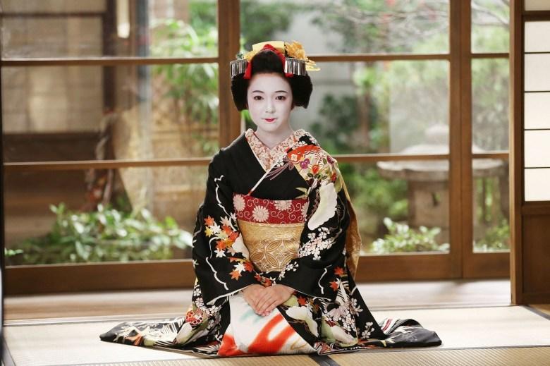 Geisha di Kyoto Jepang